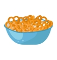 Cereals plate vector image vector image