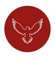 eagle american symbol icon vector image vector image