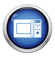 Micro wave oven icon vector image vector image