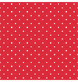 Red background seamless pattern with polka dots