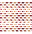 Red Monkeys seamless pattern vector image vector image