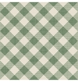 Seamless texture of green plaid vector image vector image