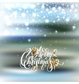 winter design with holiday lights golden stars vector image vector image