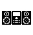 Music center icon vector image