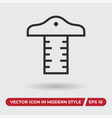 drafting icon in modern style for web site and vector image