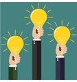modern idea innovation light bulb concept vector image vector image