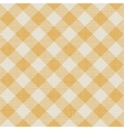 Seamless texture of yellow plaid vector image vector image