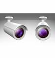 security cam cctv video camera wireless equipment vector image