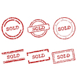 Sold stamps vector | Price: 1 Credit (USD $1)