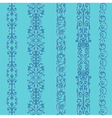 Straight lace set pattern vector image