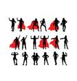 super ladies hero vector image