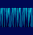 colorful naturalistic gradient blue curtains vector image