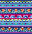 pakistani truck art seamless pattern indian art vector image vector image