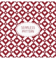 Red romantic wedding geometric seamless pattern vector image vector image