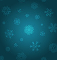 Snowflake Pattern Snowflake texture Christmas and vector image vector image