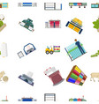 textiles industry factory and other web icon in vector image vector image