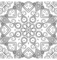 Abstract Hand-drawn Mandala-02 vector image vector image