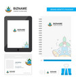 bells business logo tab app diary pvc employee vector image vector image