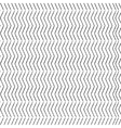 Chevron Zigzag dotted black monochrome pattern vector image vector image