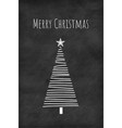 christmas tree concept card or phone wallpaper vector image vector image