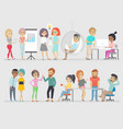 creative people vector image