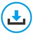Drop Down Icon vector image