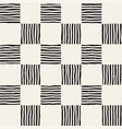 hand drawn seamless repeating pattern with vector image vector image
