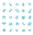 set icons gynecology healthcare design vector image