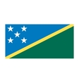 Solomon Islands flag vector image vector image