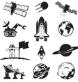 Space programme set vector | Price: 1 Credit (USD $1)