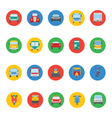 Transports Icons 3 vector image vector image