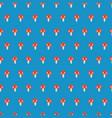 cute mushroom seamless kids repeat pattern vector image vector image