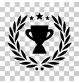 glory emblem icon vector image