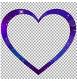 magical heart shaped border photo frame clip art vector image