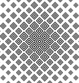 Monochrome abstract square repeat pattern vector image vector image
