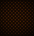 abstract seamless pattern with glowing dots neon vector image