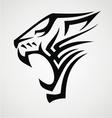 Big Cat Tribal vector image vector image