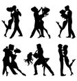 romantic dance vector image vector image