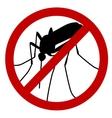 No mosquito vector image