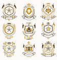 classy heraldic coat of arms collection