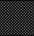 geometric seamless pattern perforated crosses vector image vector image