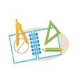Geometry Items Education Design vector image