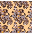 hand draw ornate seamless pattern vector image vector image