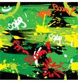 Paint blots vector image vector image