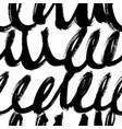 swirled grunge lines seamless pattern vector image