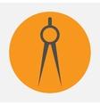 compasses icon vector image