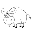 Cartoon yak