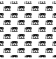Drum pattern seamless vector image vector image
