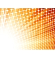 Red yelloe rays light 3D mosaic EPS 8 vector image vector image