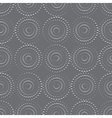 Seamless background with rounds vector image vector image
